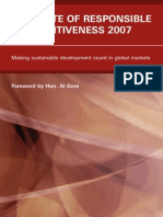 The State of Responsible Competitiveness 2007