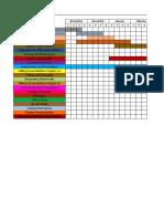 Gant Chart Sample