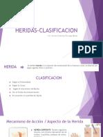 HERIDAS-CLASIFICACION