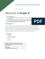 foods 1 syllabus  1
