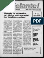 Adelante!, Año 1, No. 3 (2 de Junio de 1976)