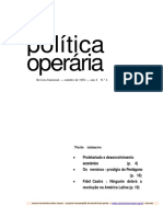 Revista Politica Operaria Nr. 4