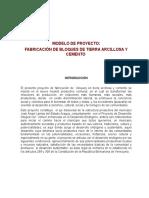 Modelo de Proyecto Bloquera