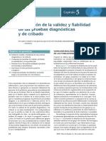 Validez y Fiabilida de Pruebas Diagnosticas