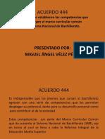 Acuerdo 444