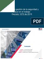 Generalidades del SG-SST bajo dec 1072