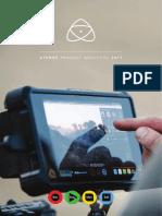 Atomos Product Brochure