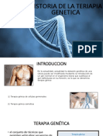 Historia de La Teriapia Genetica