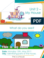 2° Unit 2 - My House