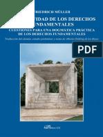 (Colección Dykinson constitucional.) Müller, Friedrich-La positividad de los derechos fundamentales _ cuestiones para una dogmática práctica de los derechos fundamentales-Dykinson (2016).pdf