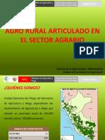 Agrorural Logros 2016 Metas 2017