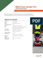 MALA EL Pro Technical Specifications