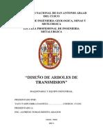 Diseño de Arboles de Transmision