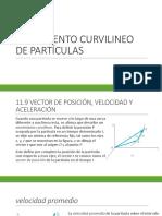 Movimiento Curvilineo de Partículas - Copia