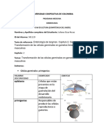 FichaLec-Embriología gametogenesis