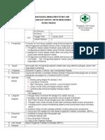 SOP Pengaman Radiasi, manajemen resiko, penggunaan  alat khusus.doc