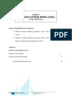 Contoh Regresi Linear