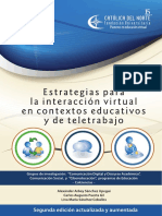 7. y 8. Estrategias Interaccion Virtual-teletrabajo