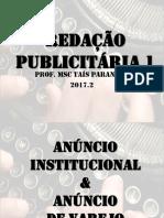 Redação Publicitária 1_Aula03