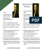 Preguntas de análisis sobre las Fábulas de Félix María de Samaniego