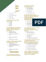 9 - Historia, Geografía, Filosofía, Cívica, Lógica