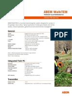 ABEM WalkTEM Technical Specifications