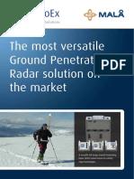 MALA ProEX Product Brochure