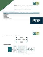 Modelo Plan de Sostenibilidad