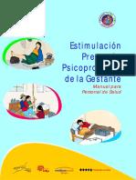 5.3 Manual de Estimulación Temprana y de Psicoprofilaxis en La Gestante