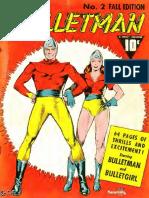 Bulletman Comics (Fawcett Comics) Issue #2