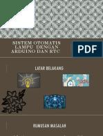 Ppt Sistem Otomatis Pada Lampu