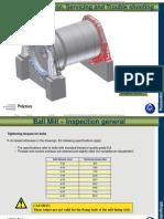 B Ball Mill Inspection