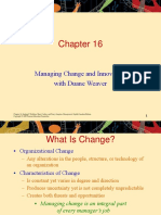 Mgmt192 Chp16 Change Management