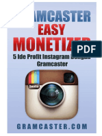 Gramcaster Easy Monetizier