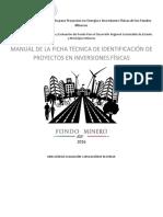 Manual Para La Presentacion de Ficha Tecnica