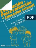 Evaluación y Postevaluación en Educacion Infantil