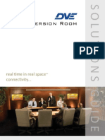 DVE Immersion Room Solutions Guide