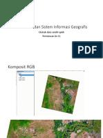 Pemetaan -11 Ekstrak Data Satelit Optik