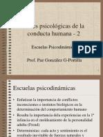 039 - Bases psicológicas de la conducta humana.pps