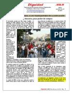 Dignidad 14, MBM CNTE