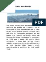 Punta de Bombón