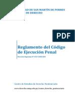 b.- Reglamento Del Codigo de Ejecucion Penal - Peru