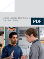 Global Technical Services Quick Start Guide