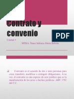 Contrato y Convenios