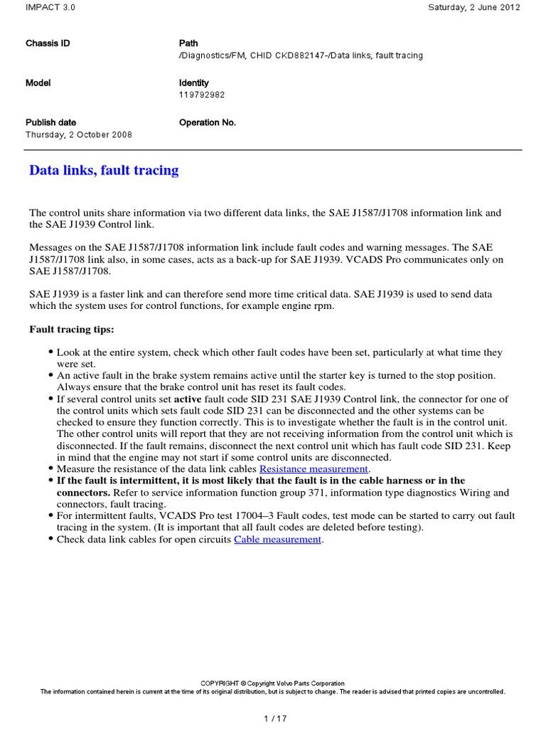 260434133-D13-a-Wiring-Diagram-Link-J1939.pdf | Electromagnetic  Interference | Instrumentation