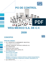 Equipo de Control WEG