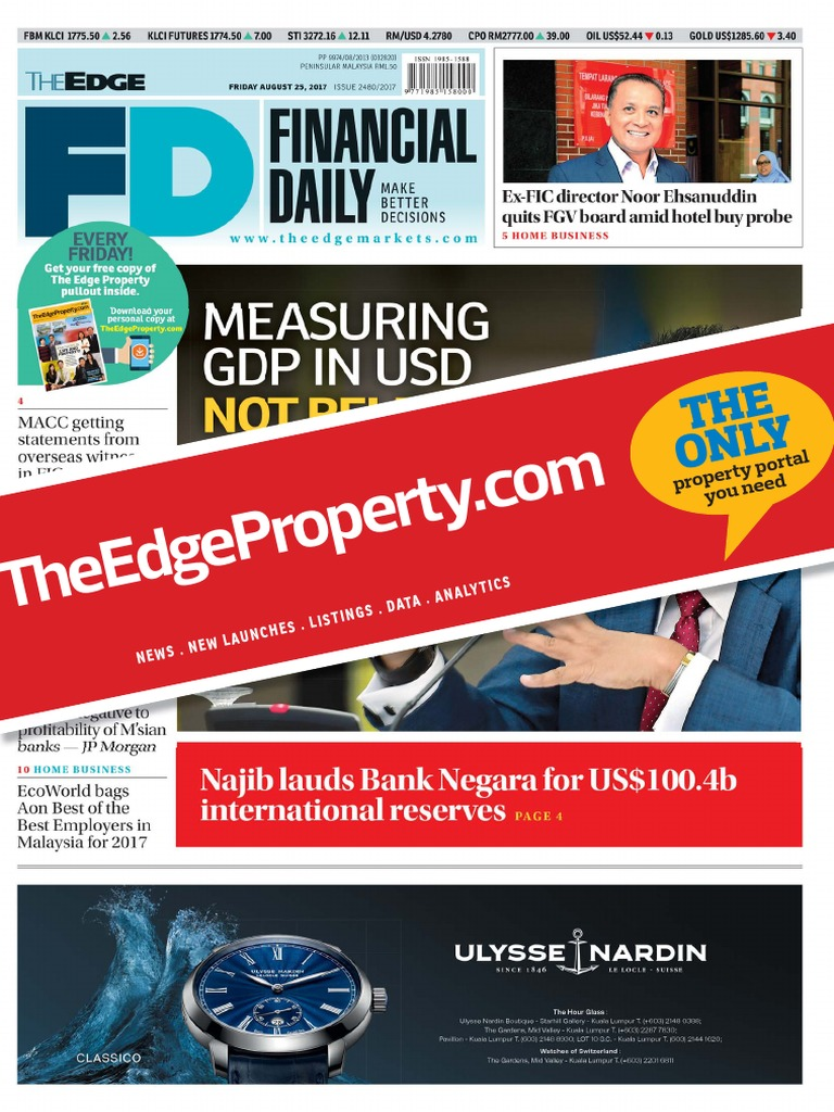 20170825svja9o | Market Liquidity | Najib Razak