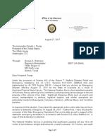Governor Edwards emergency declaration request letter