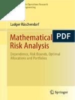 Mathematical Risk Analysis, Ruschendorf