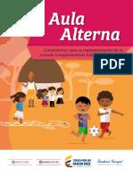 Lineamientos Para La Implementación de La Jornada Complementaria Educativa y Cultura